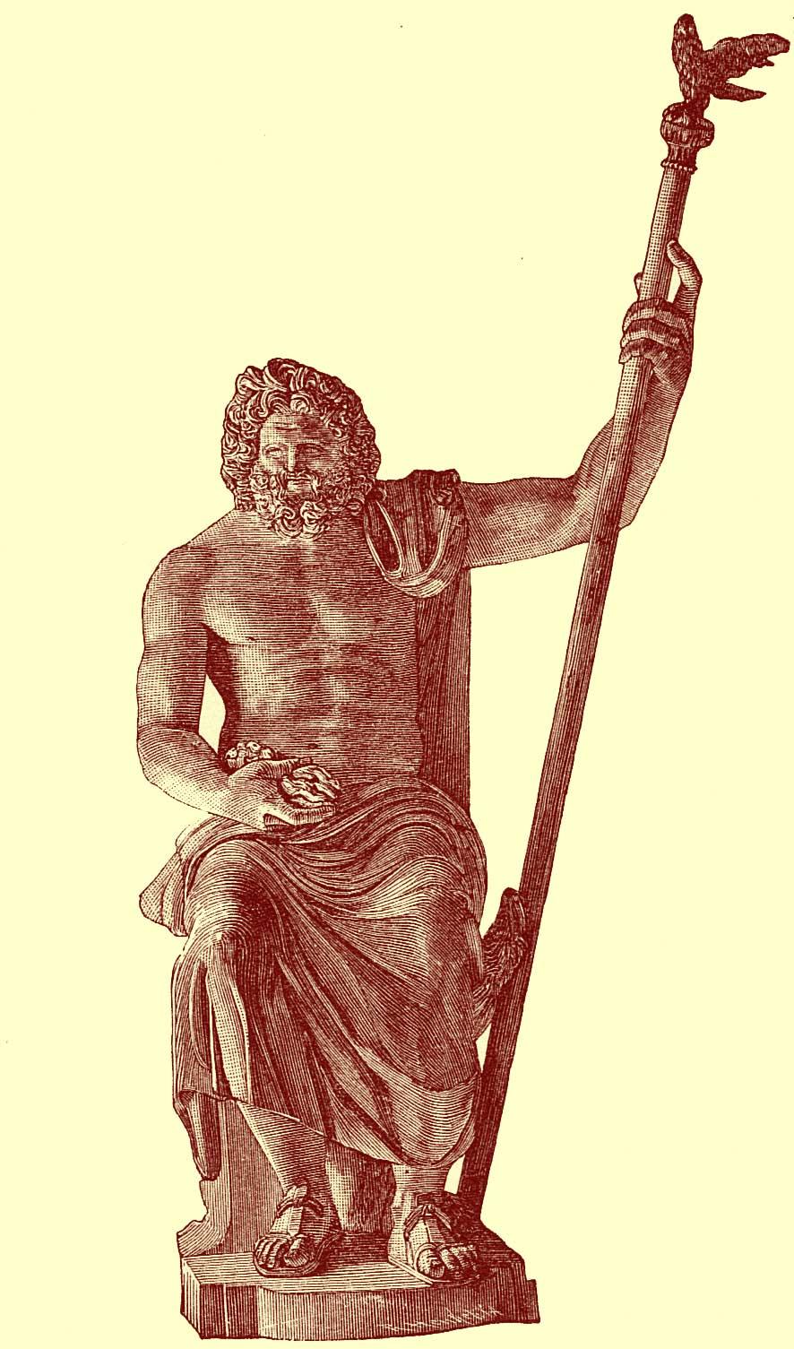 Elfinspell Zeus Or Jupiter Jove Manual Of Mythology